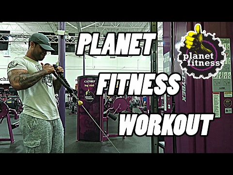 Planet Fitness Workout For Beginners | Full Routine