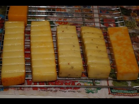 home made Smoked Cheese, turning $15 of cheese into $50
