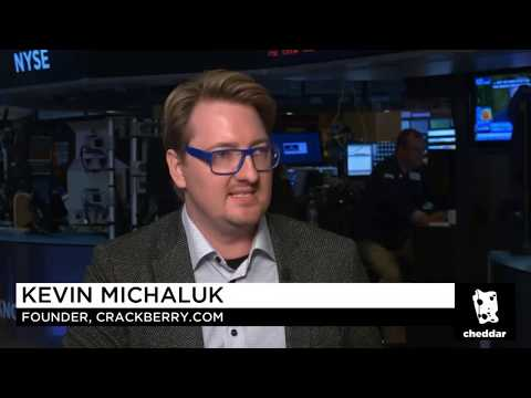 CrackBerry Kevin talks KEYone, the BlackBerry brand and more with Cheddar!