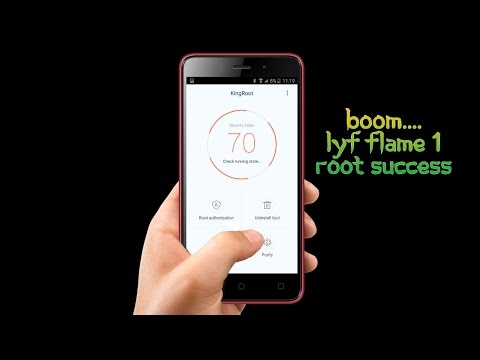 Lyf Flame 1 root 100% working hindi , how to root lyf flame 1