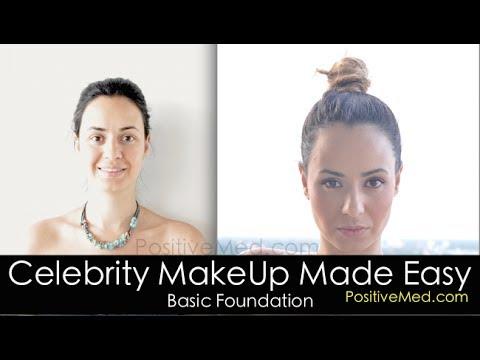 Celebrity Makeup Made Easy (Basic Foundation)