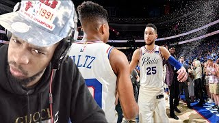 SIXERS MIGHT MAKE THE FINALS!!! SIXERS vs HEAT GAME 1 & REACTION!