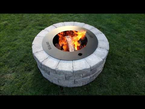 How To Build A Zentro Smoke-Less Fire Pit