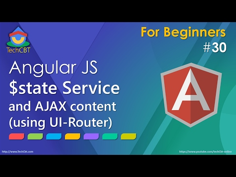 AngularJS UI Router: Working with $state Service