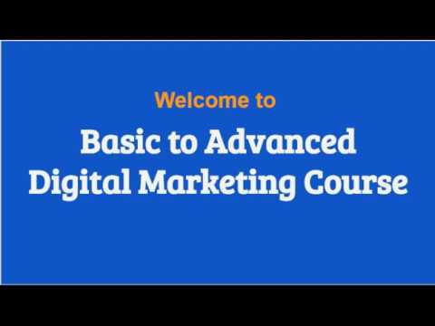 Basic to Advanced Digital Marketing Course | Your StudyMate