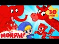 Morphle39s Magic Animals Tigers And Elephants Mila And Morphle Cartoons For Kids Morphle TV