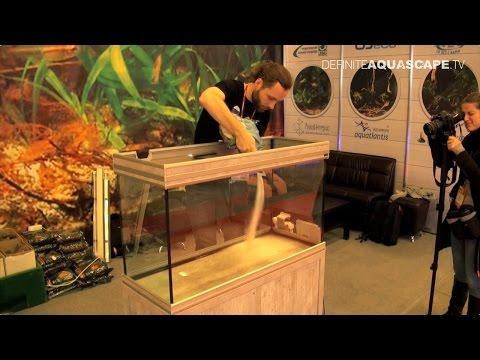 Biotope Aquarium Design Contest 2015 - setting up of Oceania tank