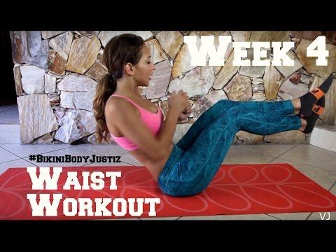 Bikini Body Challenge - Week 4, Waist Exercises (Hardcore)