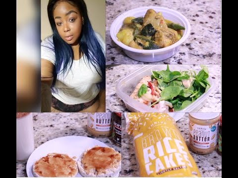 WeightLoss Transformation What I Ate Today  Healthy Food Haul