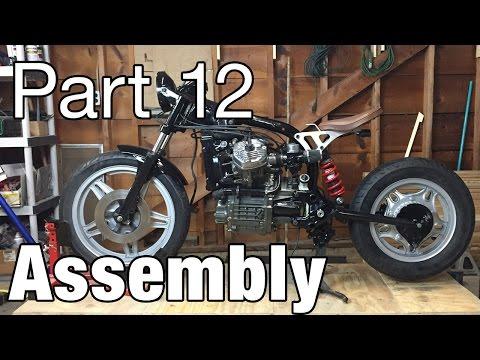 Assembling the Honda CX500 Cafe Racer - Moto Fugazi Build Part 12