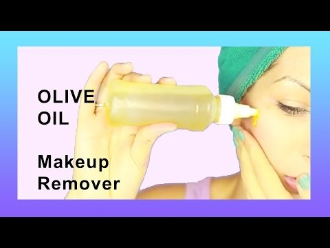 Olive Oil Makeup Remover - How to Video!
