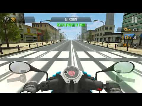 Bike racing simulator on iPhone