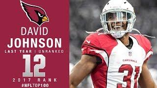 #12: David Johnson (RB, Cardinals) | Top 100 Players of 2017 | NFL