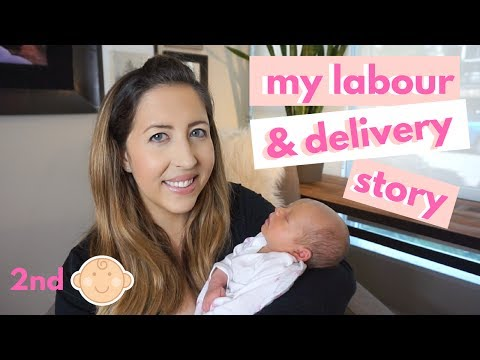 My Positive Labor and Delivery Story   2nd Baby Birth   Induction for Gestational Diabetes