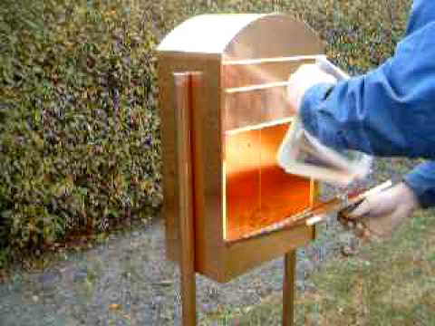 Copper mailboxes