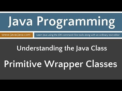 Learn Java Programming - Primitive Wrapper Classes Tutorial