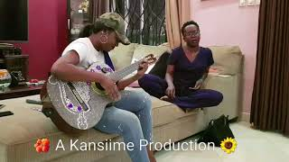 Singing sessions with Kansiime Anne and Irene Ntale. My glass of happiness