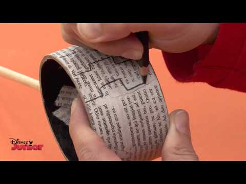 Art Attack - Music Theme - How To Make A Music Set! - Disney Junior UK HD