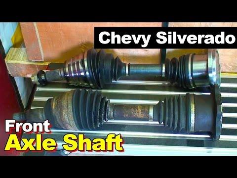 1999-2011 Silverado Front CV Axle Shaft