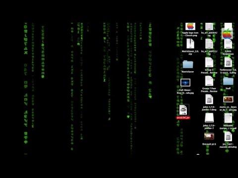 AWESOME Mac OS X Matrix Animated Custom Desktop Mod TUTORIAL HOW TO (Mac OS X 10.6-10.9)