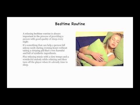 How to get good sleep - How to get a better Sleep
