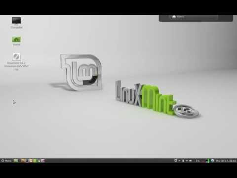 Create a bootable USB flash drive from ISO for installing Linux Mint 14