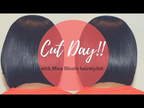 RELAXED HAIRCARE: HAIRCUT DAY!! HOW TO MAINTAIN HEALTHY RELAXED HAIR