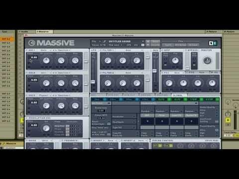 Massive Dubstep Synth/Wobble Tutorial