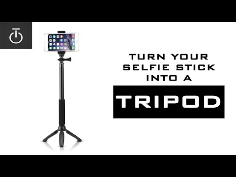 HOW TO MAKE YOUR OWN TRIPOD #MCGUYVER (test video)
