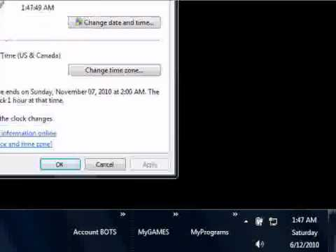 How To Set Your PC Clock To The Right Time - Sync With The Gov.