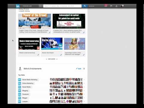 Controle over je Endorsements op LinkedIn