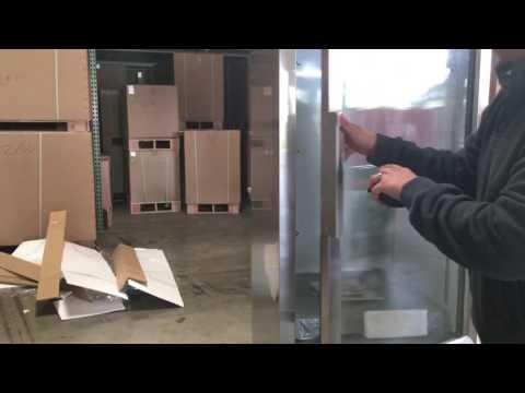 Flower Cooler Beverage Refrigerator Stainless Steel NSF