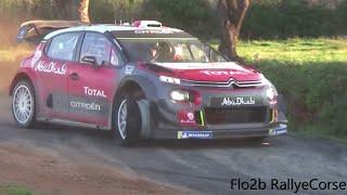 WRC Test Sébastien Loeb Tour de Corse 2018 C3 wrc [1080p50]