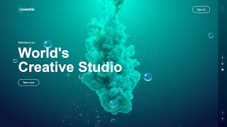 How To Make Animated Website Design Using HTML And CSS Step By Step Tutorial 2020