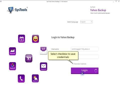 Save Yahoo Mails to Your PC