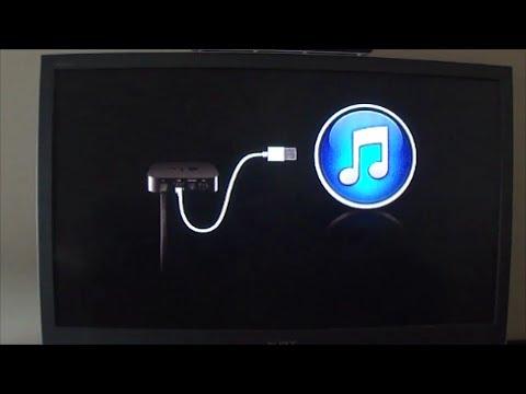 Tech Tip #57 AppleTV - How to Restore AppleTV