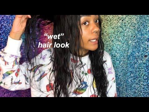WET HAIR LOOK IN 5 MIN | NADULA HAIR UPDATE