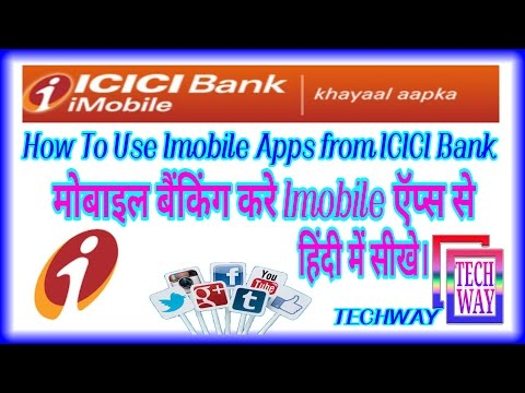 How To Use Imobile By ICICI Bank || Mobile banking || internet Banking