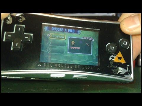 Custom Legend of Zelda Gameboy Micro!