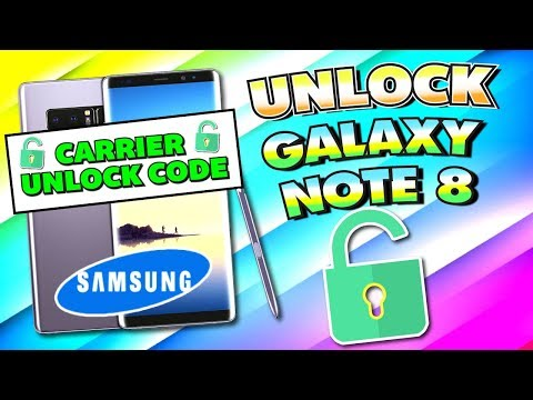 How To UNLOCK Samsung Galaxy Note 8 - (Carrier/Network Unlock) Unlock Code