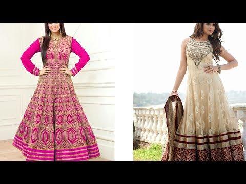 Latest Party Wear Anarkali Dress - She Fashion