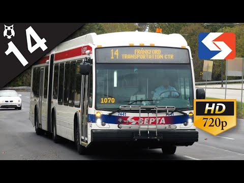 SEPTA Ride: 2015 NovaBus LFS Articulated #7357 on route 14 to Oxford Valley Mall