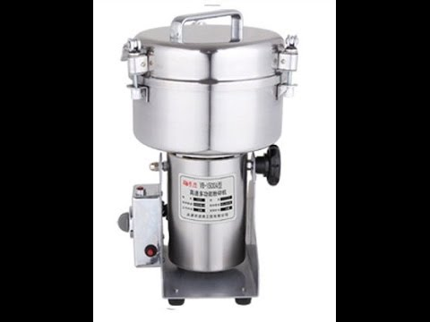 Electric Herb Coffee Beans Grain Grinder Cereal Mill Powder Machine Flour 1000g
