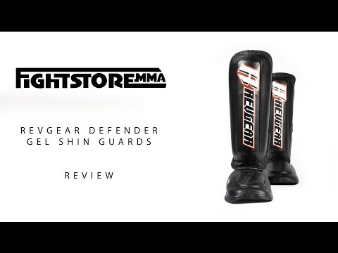 Revgear Defender Gel Shin Guard Review