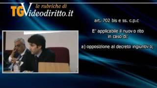 Procedimento sommario di cognizione (Parte 1) - Ambito Applicativo