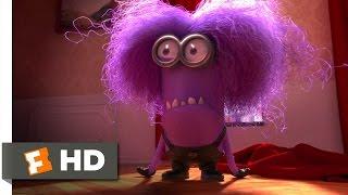 Despicable Me 2 (9/10) Movie CLIP - The Purple Minion Attacks (2013) HD