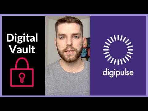 Digipulse: Store Private Keys & Documents In A Digital Vault | Crypto Inheritance