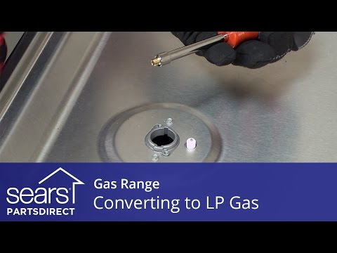Converting a Gas Range to Operate on LP Gas