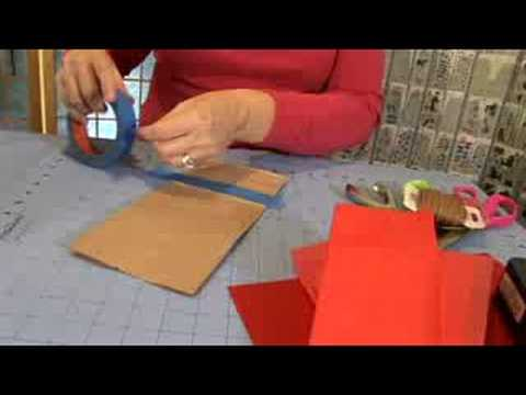 Inexpensive Gift Wrapping Materials : Paper Bag Gift Wrapping