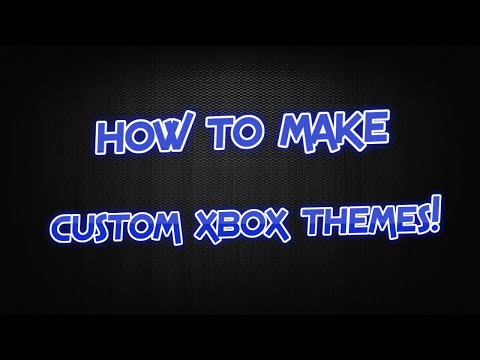How to make Custom Xbox 360 Themes! [WORKS]